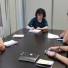 La diputada MªÁngeles Aguilera se reúne con Julián Moreno diputado de Participa Sevilla - Ganemos Córdoba