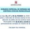 Cierran los centros cívicos durante Semana Santa - Ganemos Córdoba