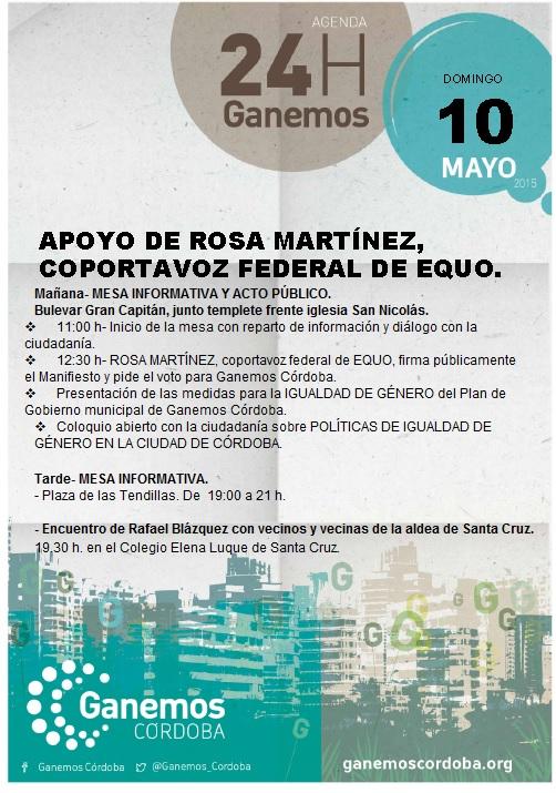 Agenda 10 mayo