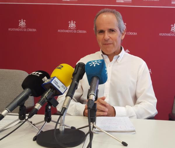 El portavoz de la formación, Rafael Blázquez denuncia la situación